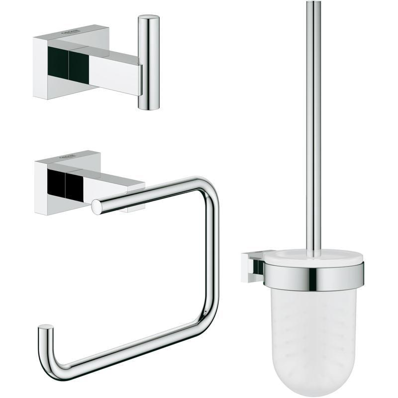 GROHE Essentials Cube 3 in 1 - zestaw akcesoriów łazienkowych 40757001