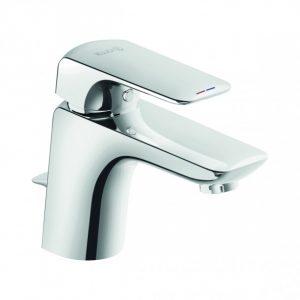 Jednouchwytowa bateria umywalkowa Kludi Ameo do małych łazienek Chrom 410290575 @