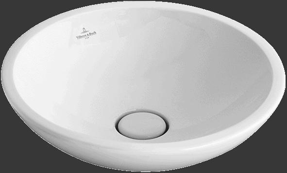 Umywalka nablatowa okrągła Villeroy Boch Loop and Friends 51440001 43cm