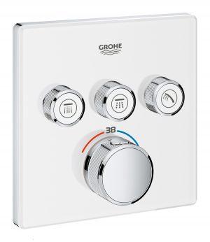 GROHE Grohtherm SmartControl - podtynkowa bateria termostatyczna do obsługi trzech wyjść wody 29157LS0 .