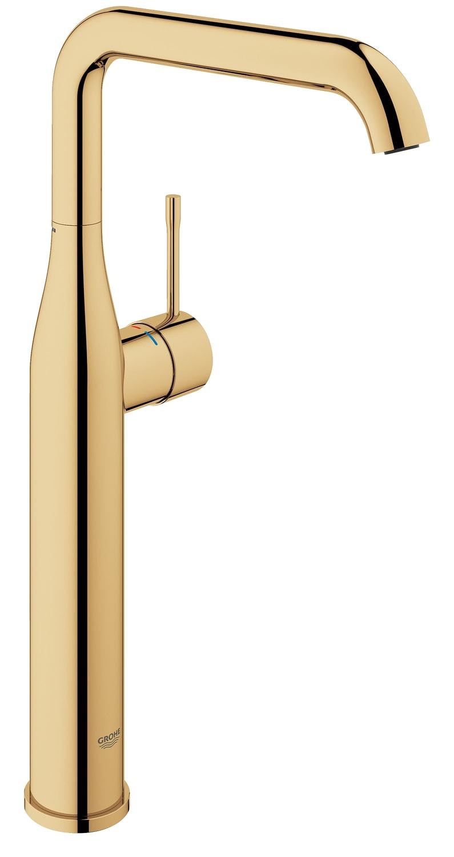 GROHE Essence New - jednouchwytowa bateria umywalkowa do umywalek wolnostojących Cool Sunrise Złoty 32901GL1