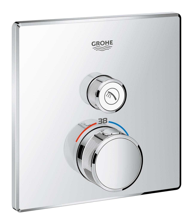 GROHE Grohtherm SmartControl - podtynkowa bateria termostatyczna do obsługi jednego wyjścia wody 29123000