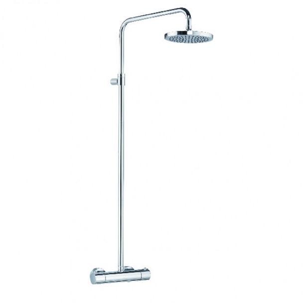 Zestaw prysznicowy z termostatem Kludi Mono Shower System 660810500