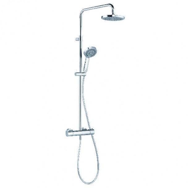 Zestaw natryskowy z termostatem Kludi A-QA Dual shower system A-QAs 660950500