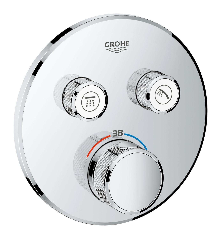 GROHE Grohtherm SmartControl - podtynkowa bateria termostatyczna do obsługi dwóch wyjść wody 29119000