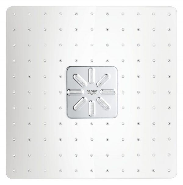 Zdjęcie GROHE Rainshower 310 SmartActive Cube – deszczownica, 2 strumienie, z ramieniem prysznicowym 26479LS0