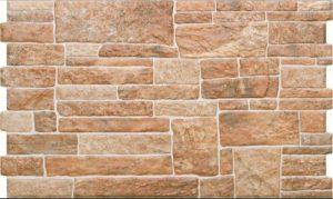 Płytka elewacyjna Cerrad Kamień Canella Ginger 490x300x10mm 17504