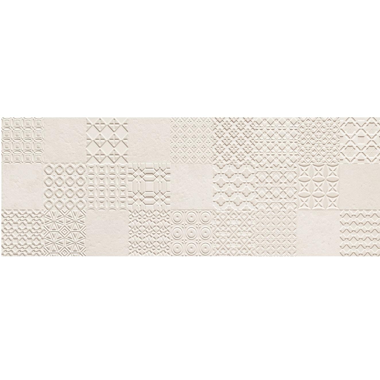 Dekor ścienny Tubądzin Integrally Light Grey 32,8x89,8cm DS-01-212-0328-0898-1-020