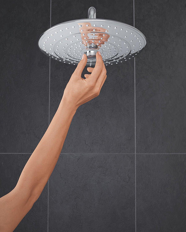 Zdjęcie Zestaw prysznicowy z termostatem do montażu ściennego Grohe Euphoria System 260 27296002