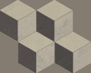 Mozaika Paradyż Rockstone Antracite Mozaika Cieta Mix 20,4X23,8cm Mat