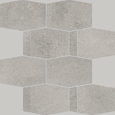 Mozaika ścienna Cięta Paradyż Naturstone Antracite Hexagon Mix 28,6X23,3 cm M-C-286X233-1-NATE.AN-HMX