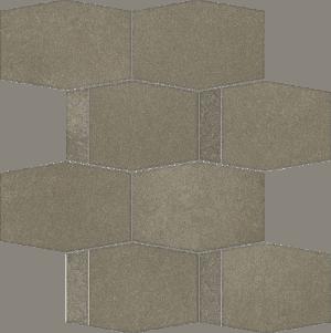 Mozaika ścienna cięta Paradyż Naturstone Umbra Hecagon Mix 28,6X23,3 cm M-C-286X233-1-NATE.UM-HMX