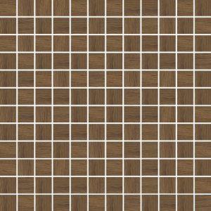 Mozaika ścienna Prasowana Paradyż Loft Brown Wood K.2,3X2,3  29,8X29,8cm