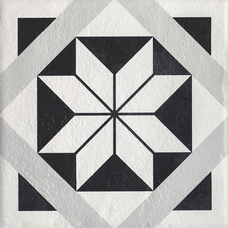 Płytka podłogowa Paradyż Modern Motyw F Struktura 19,8x19,8cm parModMotFStr20x20