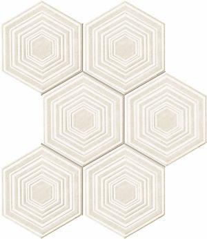 Mozaika ścienna Tubądzin Solei grey 28,9x22,1 MS-01-169-0289-0221-1-023 (p)