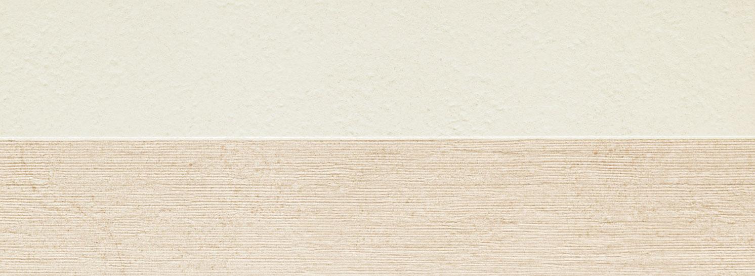 Płytka ścienna Tubądzin Balance ivory / grey STR 32,8x89,8cm PS-01-199-0328-0898-1-010