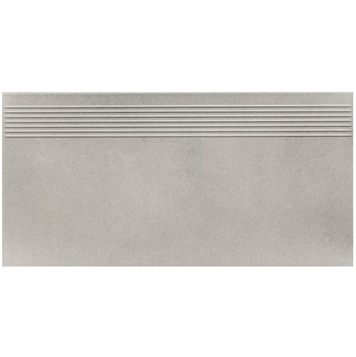Stopnica prosta podłogowa Paradyż Naturstone Antracite 29,8X59,8 cm