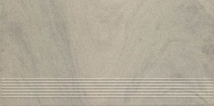Stopnica Prosta Paradyż Rockstone Antracite Mat. 29,8X59,8cm