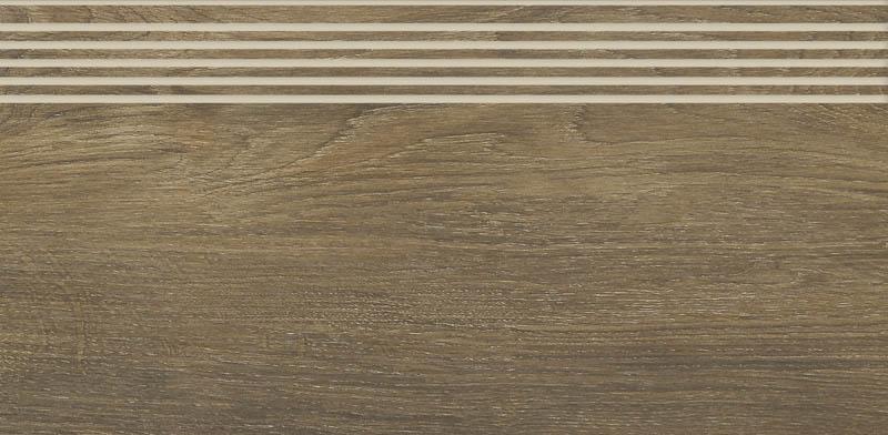 Stopnica Paradyż Roble Brown Mat 29,4X59,9 cm RN--294X599-1-ROBL.BRSP-M
