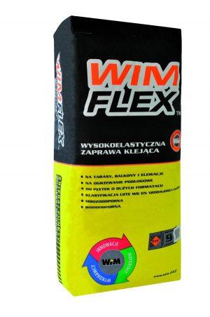 Wysokoelastyczna zaprawa klejąca do wszystkich płytek WIM Flex 25kg