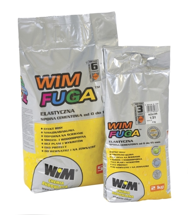 Fuga cementowa Wim WIMFUGA 2 kg, Wanilia 1/31