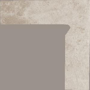 Cokół 2 El. -Prawy Paradyż Viano Beige 8,1X30cm Mat