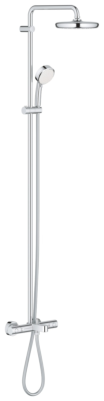 GROHE Tempesta Cosmopolitan 210 - system natryskowy z wannową bateria termostatyczną 26223001 .
