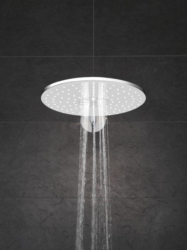 Zdjęcie GROHE Rainshower 310 SmartActive – deszczownica, 2 strumienie, z ramieniem prysznicowym 26475A00