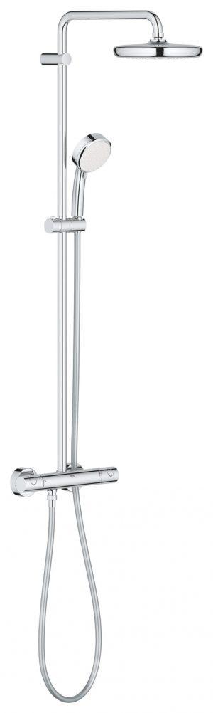 GROHE Tempesta Cosmopolitan System 210 - system natryskowy z baterią termostatyczną 27922001