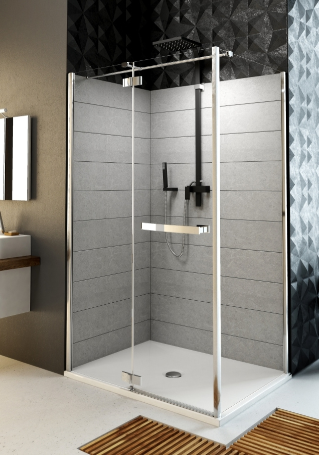 Drzwi uchylne Aquaform HD Collection 103-09390 Lewe 90cm @