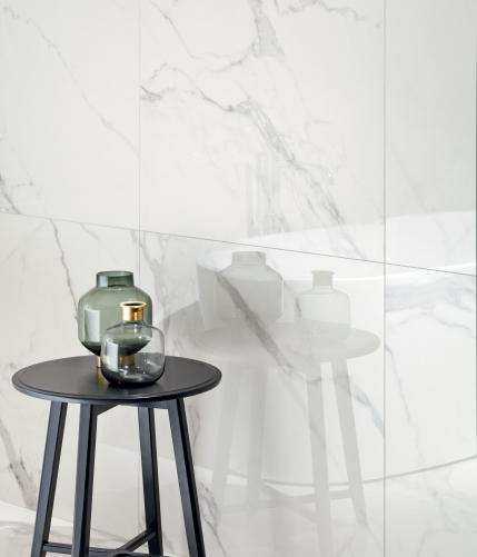 Zdjęcie Płytka podłogowa Tubądzin Monolith Pietrasanta Poler 119,8×239,8cm tubMonPiePol120x240