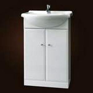 Szafka pod umywalkę Defra Armando 61,5cm biała 001-D-06501