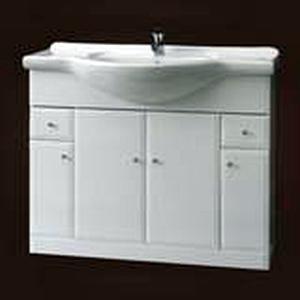 Szafka pod umywalkę z szufladami Defra Armando 92cm biała 001-D-09501