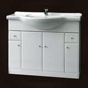 Szafka pod umywalkę z szufladami Defra Armando 102cm biała 001-D-10501