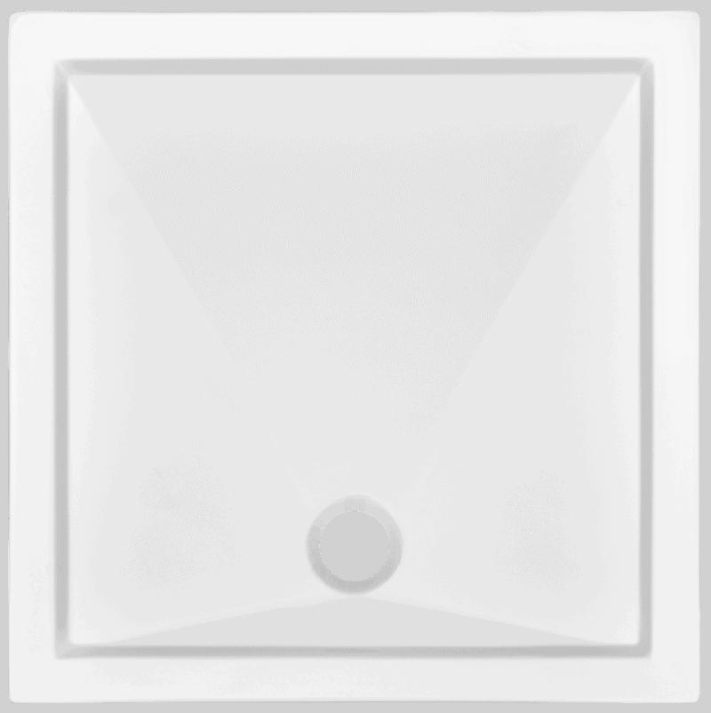 Brodzik kwadratowy Atrium Arco 90cm QA2-90