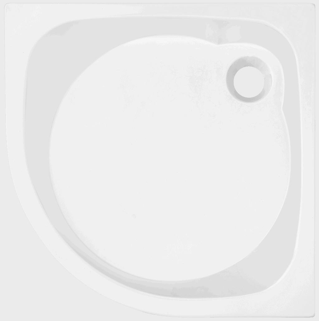 Brodzik półokrągły Atrium Brenta 80cm QB1-80