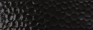 Dekoracja ścienna Azteca Unik R90 Bubbles Black Glossy 30x90