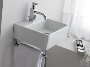 Umywalka nablatowa Bathco Bergamo 0010B