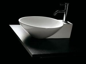 Umywalka nablatowa Bathco Bayona 0028