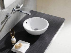 Umywalka nablatowa Bathco Castellon C 35cm 4015