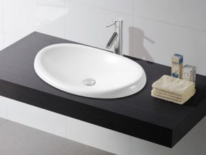 Umywalka blatowa Bathco Ellipse 4022