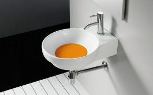 Przykrywka odpływu Bathco Marsella pomarańczowa 4036PNA
