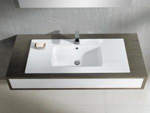 Umywalka blatowa Bathco Liebana 61x46cm 4065