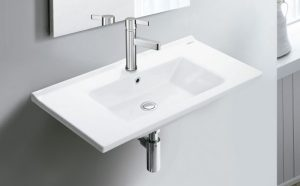 Umywalka wisząca Bathco Riga 85x45cm 4100