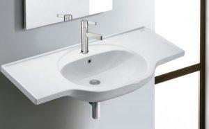 Umywalka wisząca Bathco Bucarest 102x50cm 4103