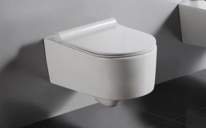 Miska WC wisząca Bathco Elba 56,5x35,5cm 4529/UF