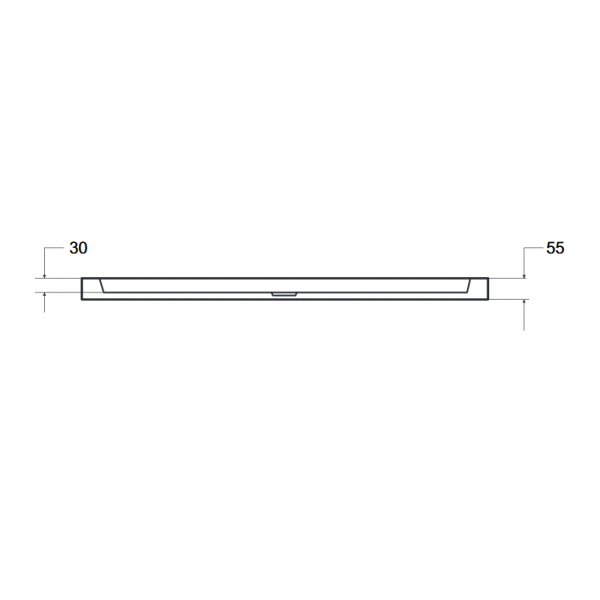 Zdjęcie Brodzik prostokątny Besco Alpina 120 biały 120x80x3 BAA-128-P