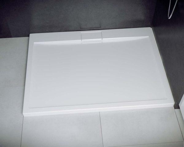 Zdjęcie Brodzik prostokątny Besco Axim 110 biały 110x90x4.5 BAX-119-P