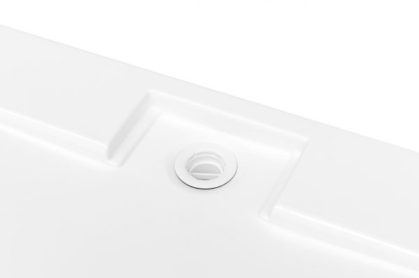 Zdjęcie Brodzik kwadratowy Besco Axim Ultraslim Kwadratowy 90 biały 90x90x4.5 BAX-90-KR