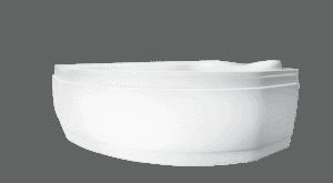 Wanna narożna asymetryczna Besco Delfina 166 Lewa166x107cm WAD-166-NL